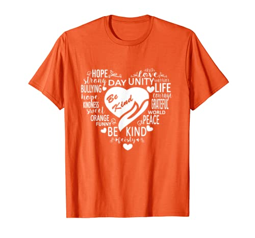 Unity Day Kindness Orange Gift, Be Kind Anti Bullying 2019  T Shirt