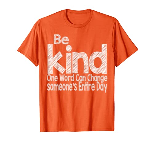 Unity Day Orange No Bullies Bullying Kindness Be Kind  T Shirt