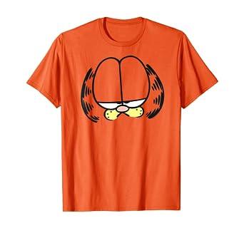 Amazon Com Garfield Big Head T Shirt Clothing
