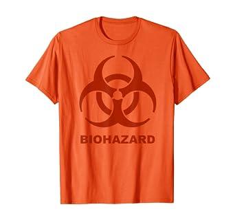 Orange Symbol On Halloween 2020 Amazon.com: Biohazard Symbol Halloween 2020 Toxic T Shirt: Clothing