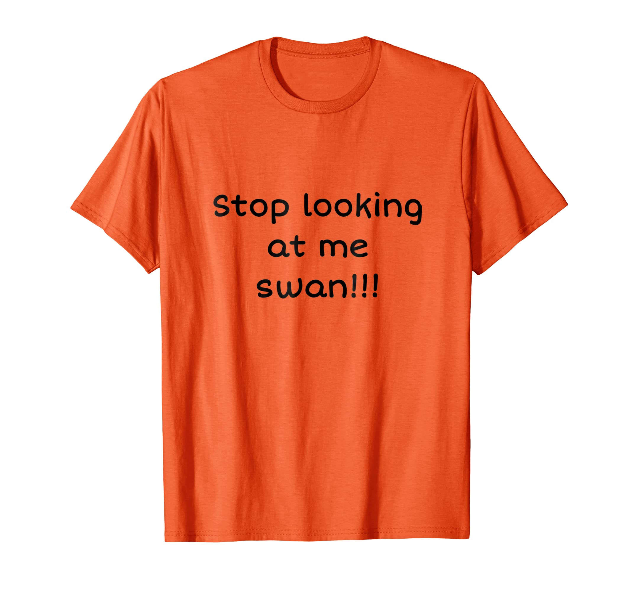 Stop Looking At Me Swan T-Shirt-AZP