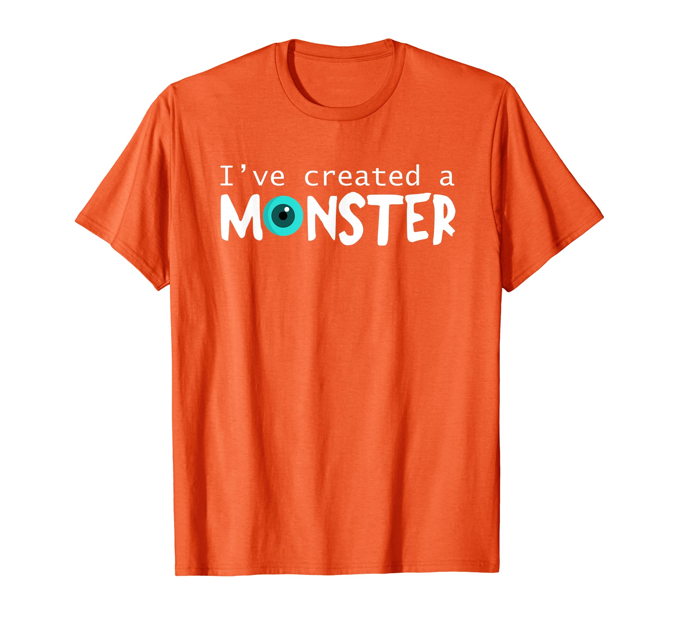 dfa38c51 Amazon.com: Matching Dad and Son Shirt I Created a Monster Set Funny Tee:  Clothing