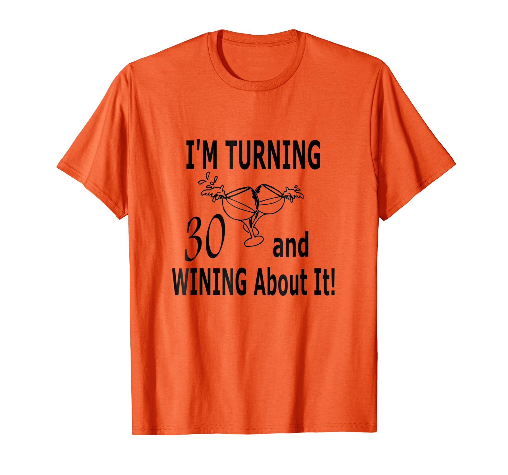 Amazon Turning 30th Birthday Gift Shirt Clothing