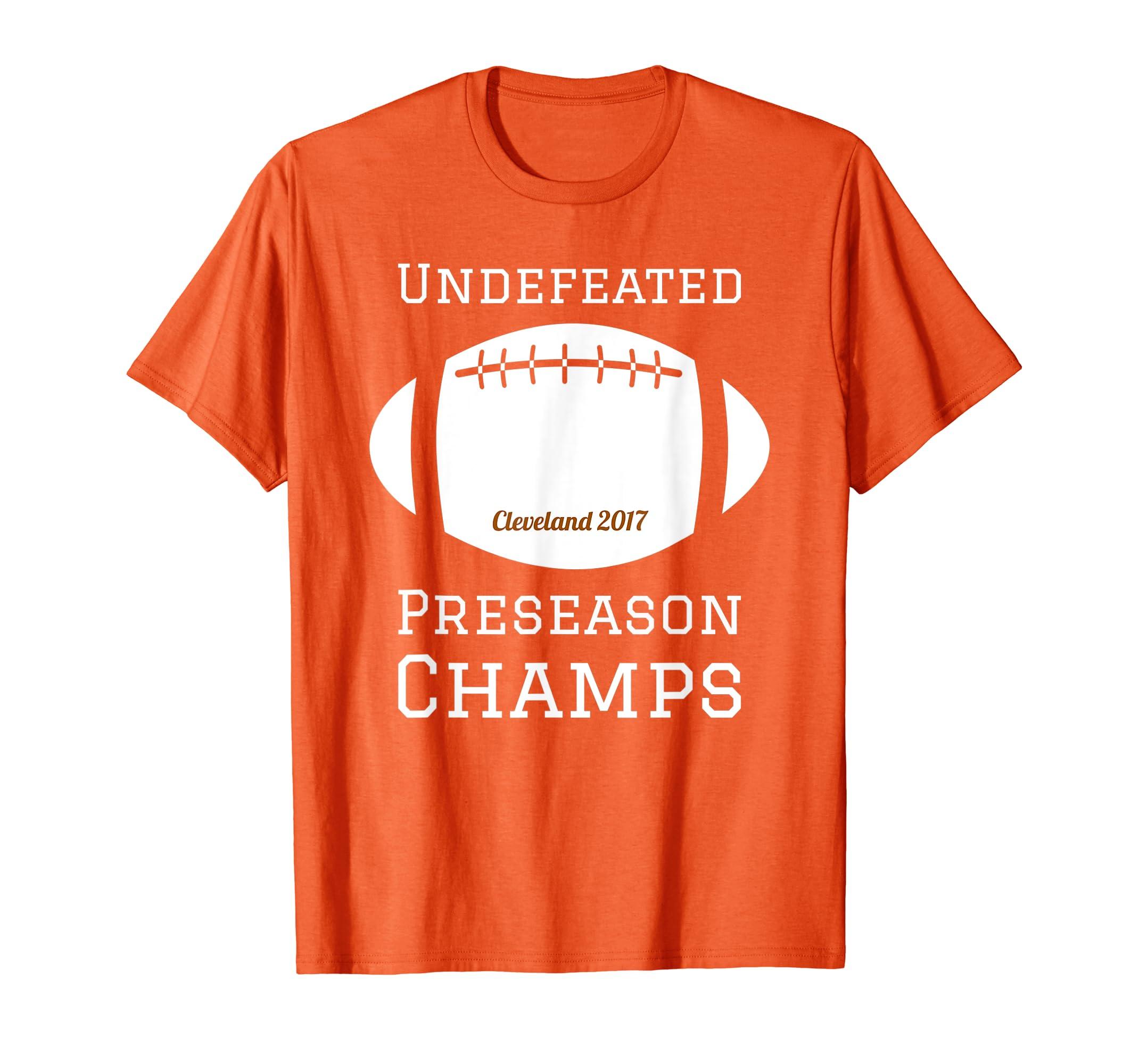 878440c684ba Amazon.com  Undefeated Preseason Champs Football 2017 t-shirt  Clothing