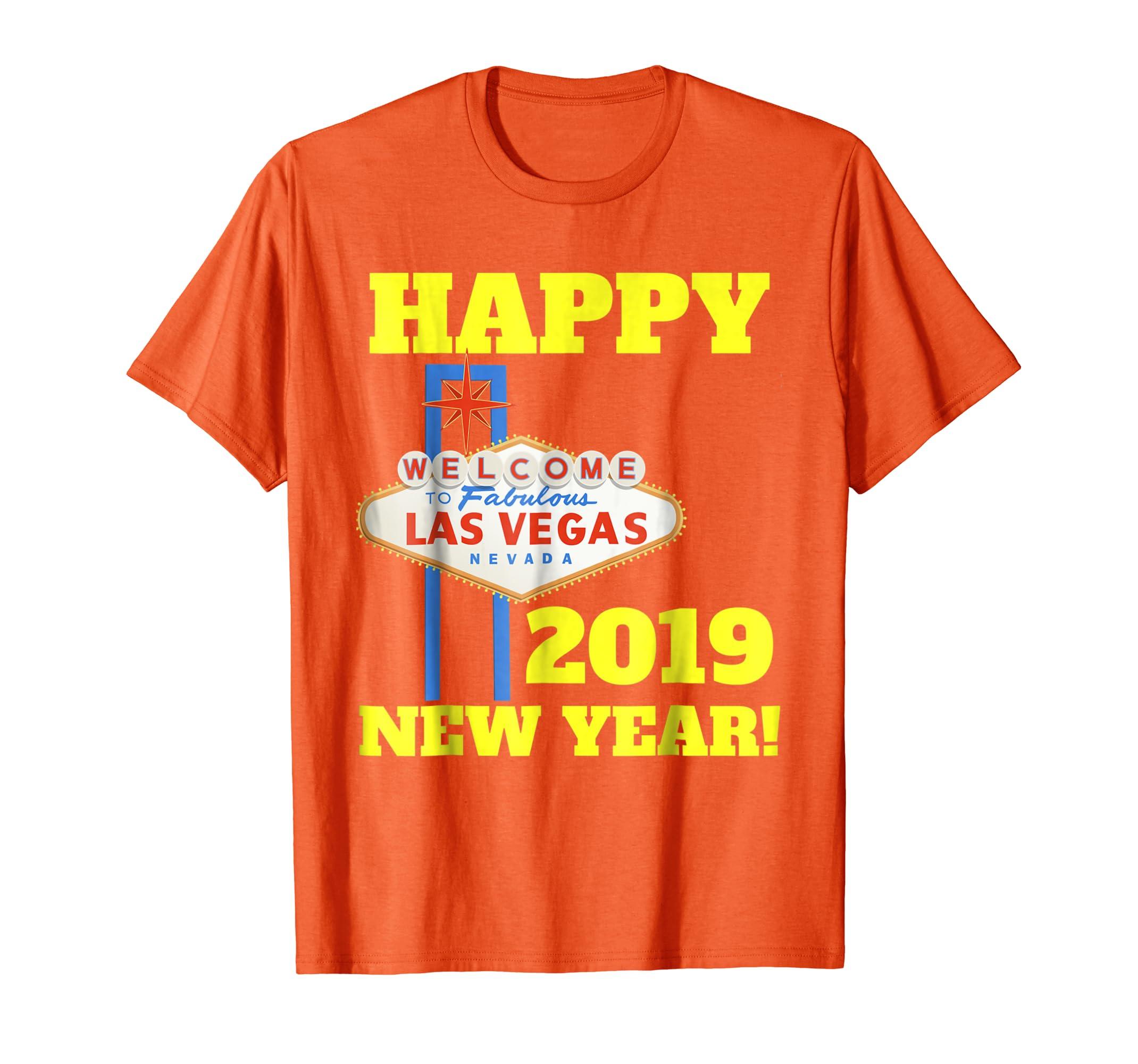 1a3b691d Las Vegas New Years 2019 Shirt, Happy New Year Vegas 2019-azvn ...