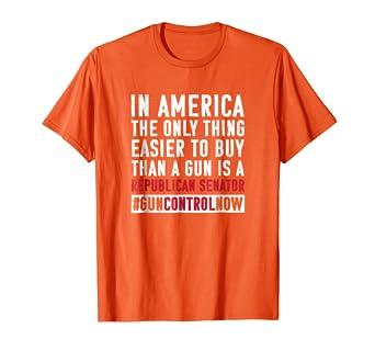 Amazon Com Anti Gun Tshirt Wear Orange Shirt End Gun Violence Shirt