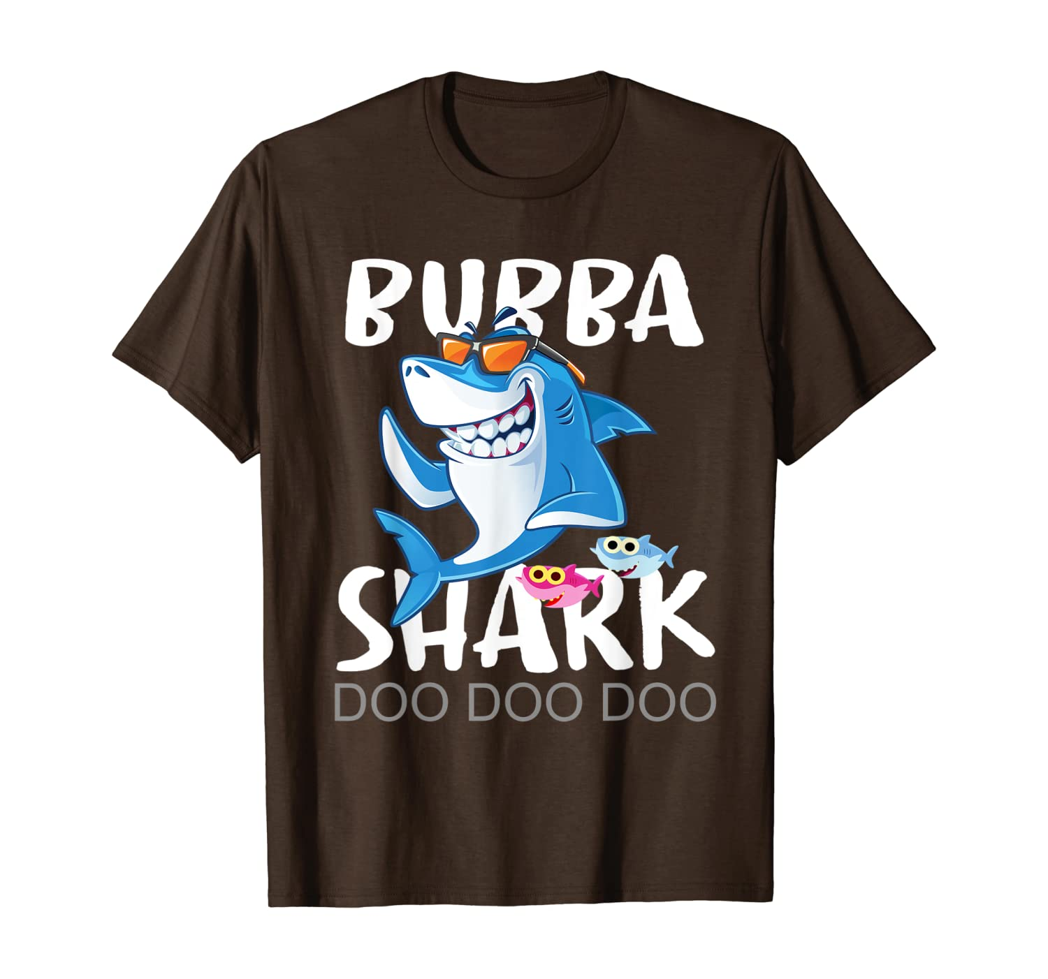 Mens Bubba Shark Shirt, Fathers Day Gift From Wife Son Daughter - Dad Shirt Up To 5xl