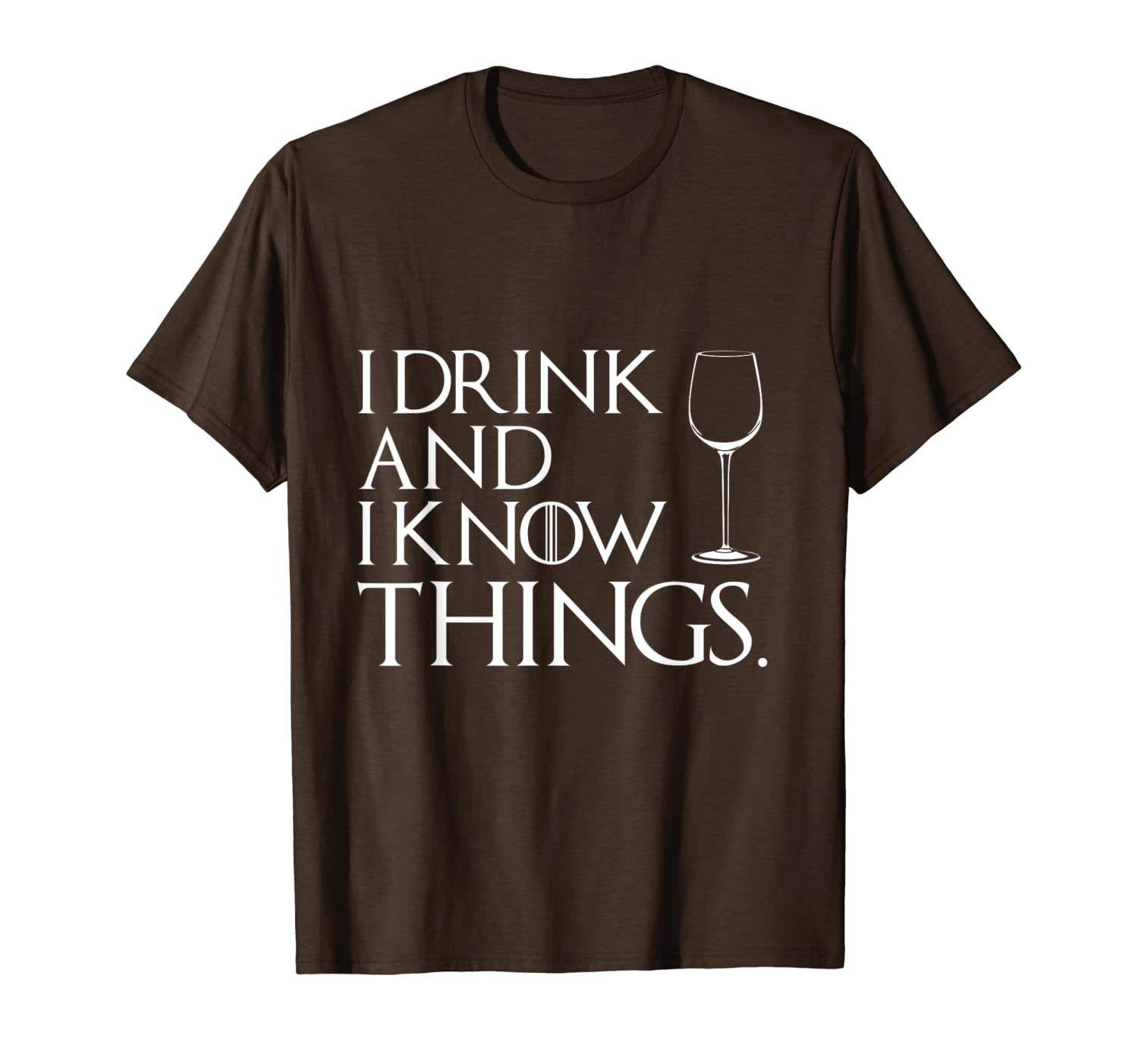 I Drink An I Know Things Cosplay Tee Shirt-TH