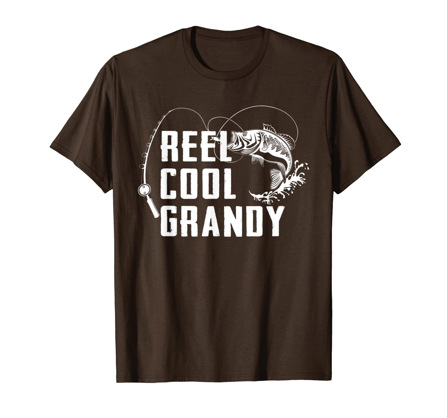 Mens Reel Cool Grandy - Fishing Gift T-Shirt For Dad Or Grandpa Unisex Tshirt