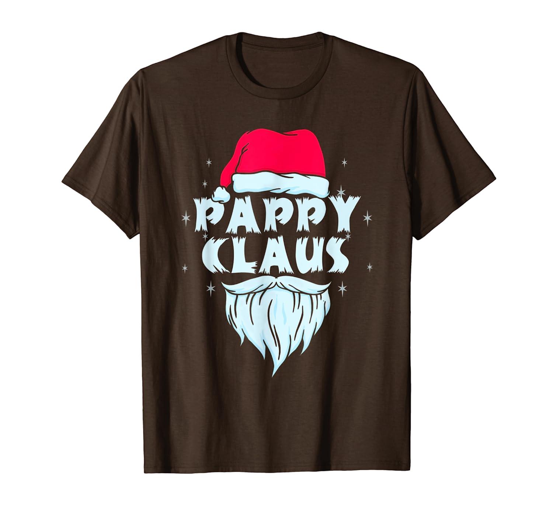 Pappy Claus Santa Christmas Matching Family Xmas Gift T-Shirt