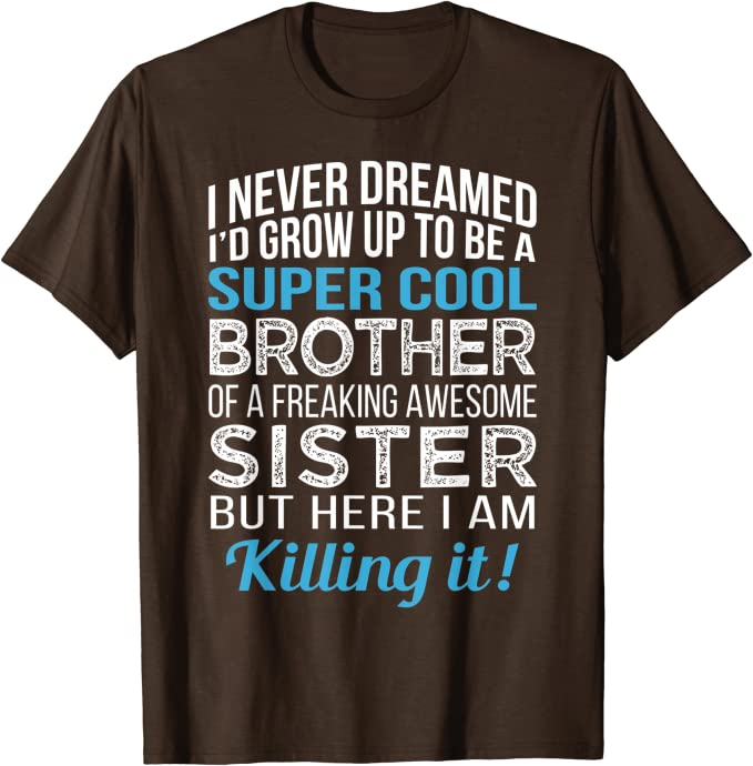 Brother For Sale funny t shirt kids girls birthday xmas gift sarcastic free post