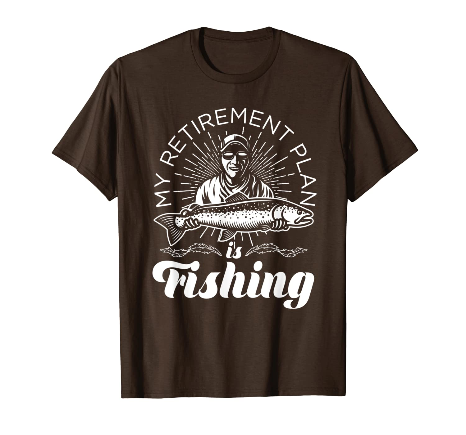 My Retirement Plan is Fishing Shirt TShirt for Fishermen Unisex Tshirt