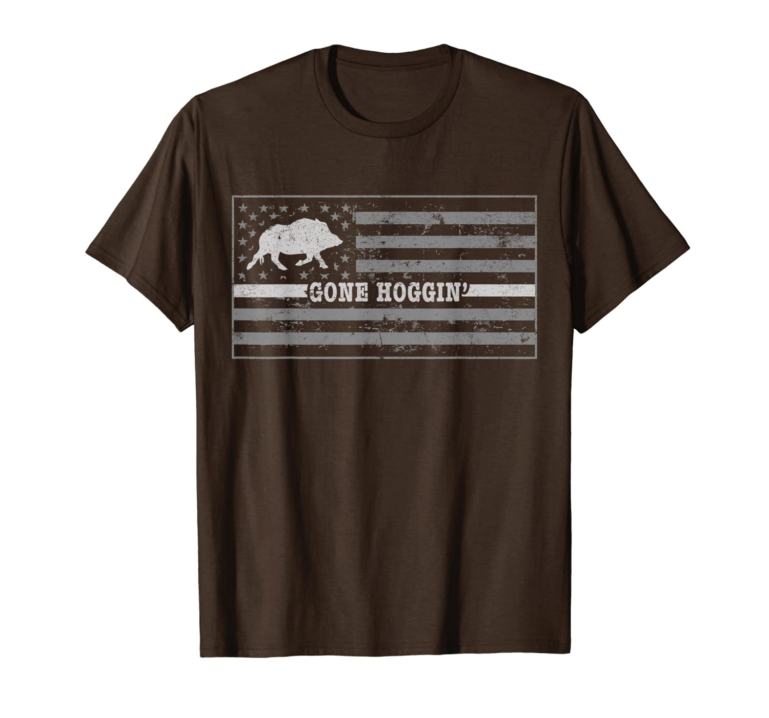Dog Hog Hunting Shirt Gone Hoggin Hog Hunting Stuff Unisex Tshirt