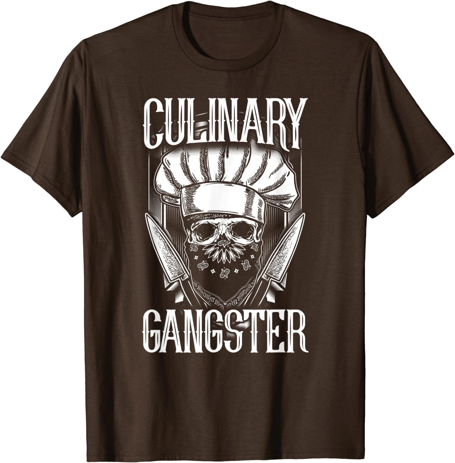 Amazon Com Cooking Culinary Gangster T Shirt Clothing
