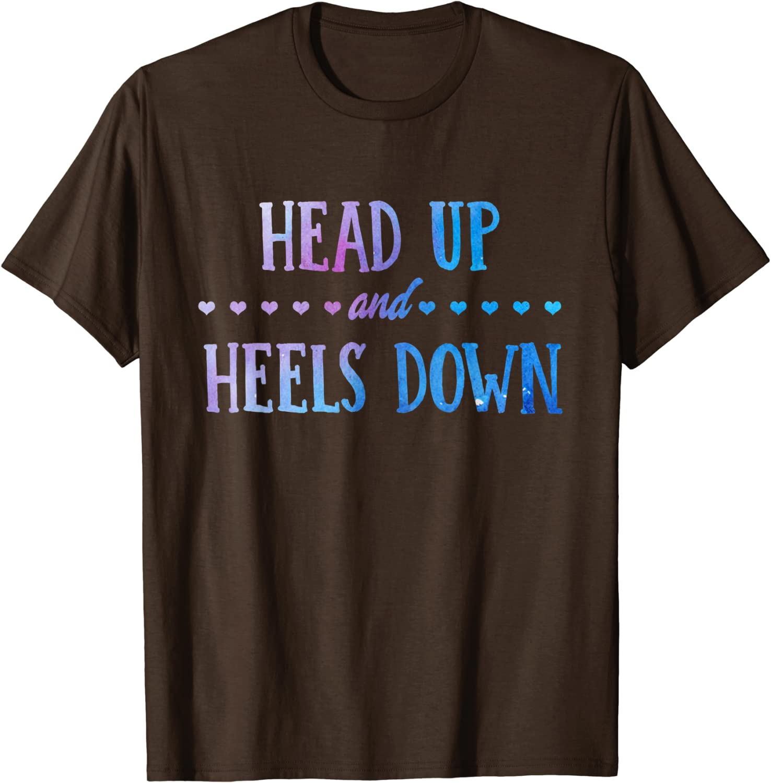 Heels Down Horse T-shirt Tee