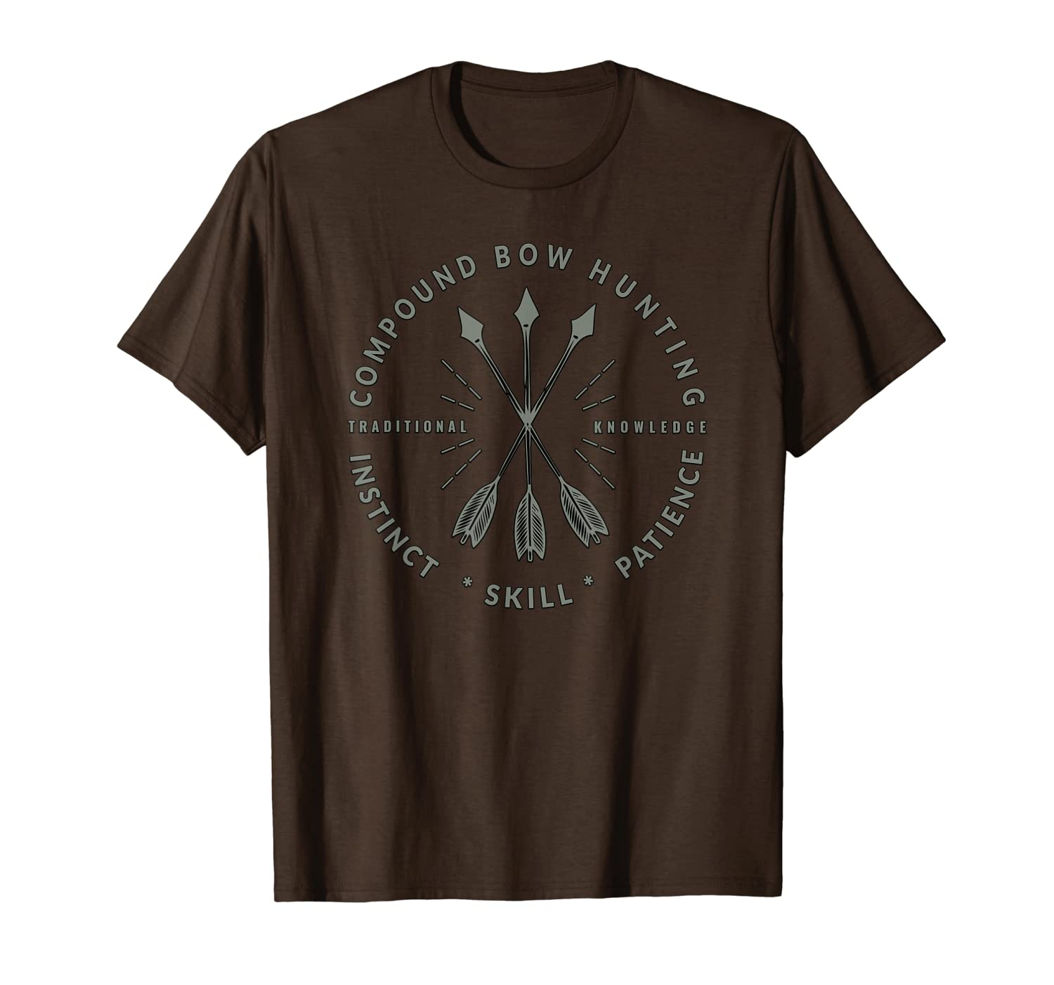 Compound Bow Hunting T-Shirt, Archery Bow Hunter Gift Unisex Tshirt
