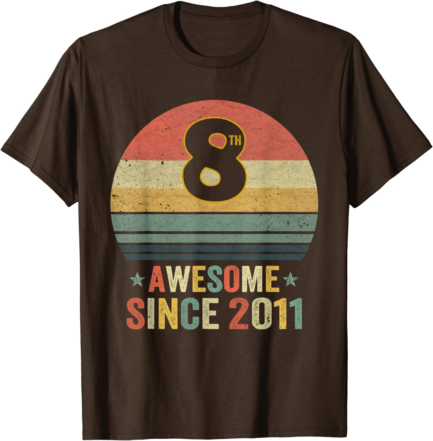 Presents Gift ideas for 8 Year Old Boys Legend 2012 T-Shirt 8th Birthday Gifts