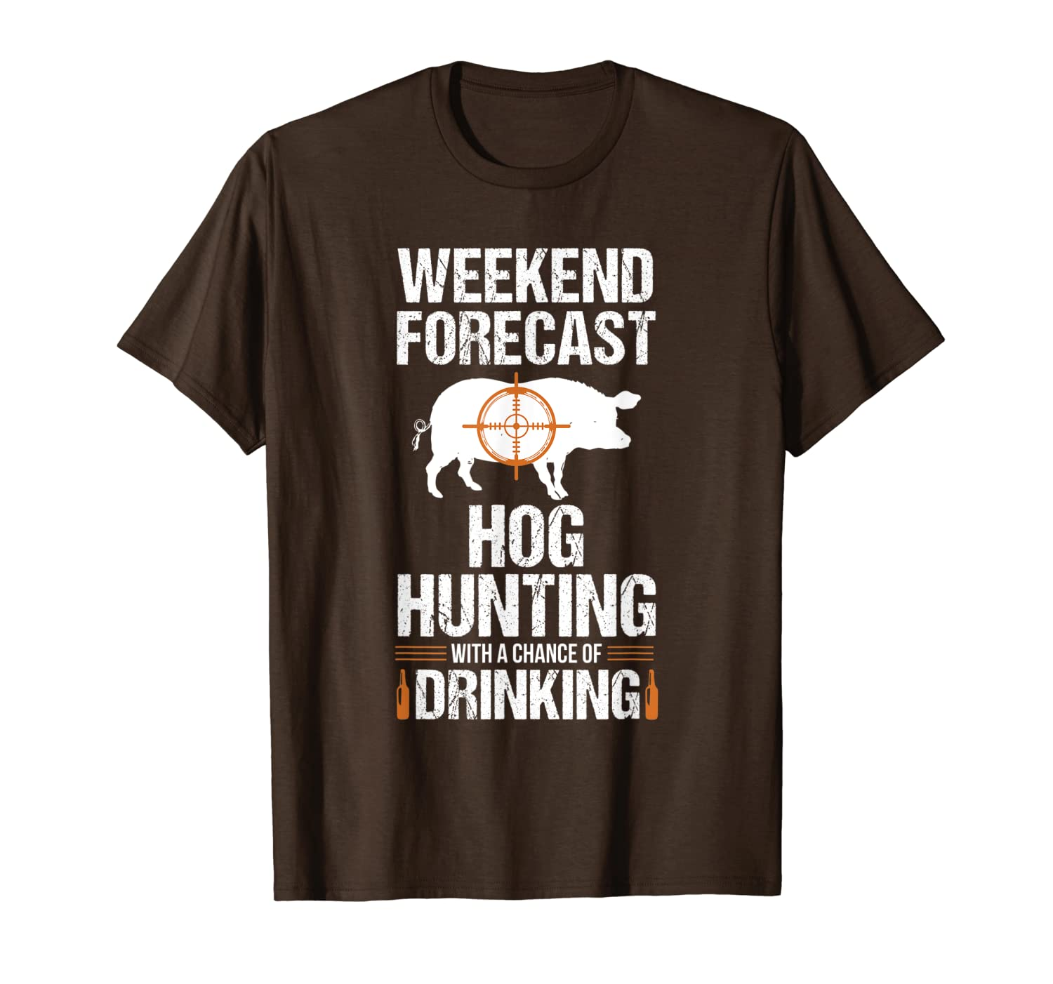 Hog Hunting Funny Weekend Beer Boar Hunter Pig Gift T-Shirt Unisex Tshirt