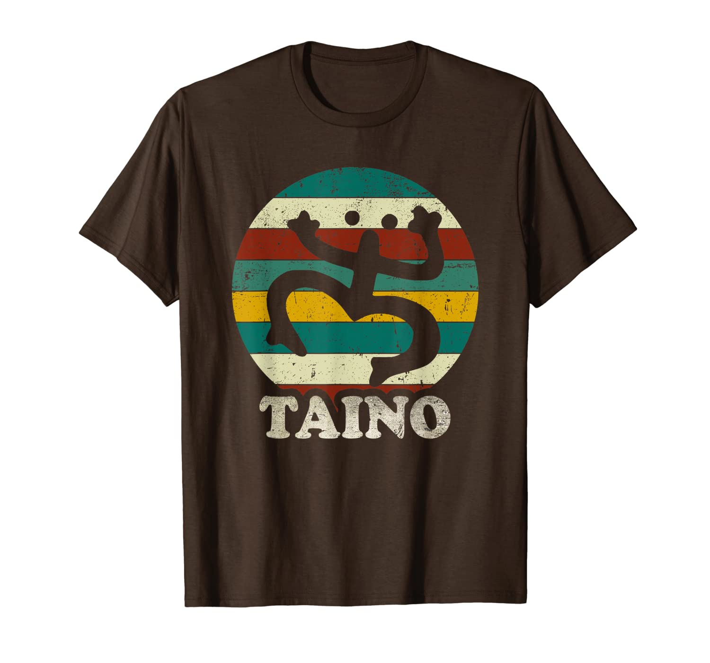 Vintage Sun Distressed Taino Coqui Symbol Gift Taino Shirt