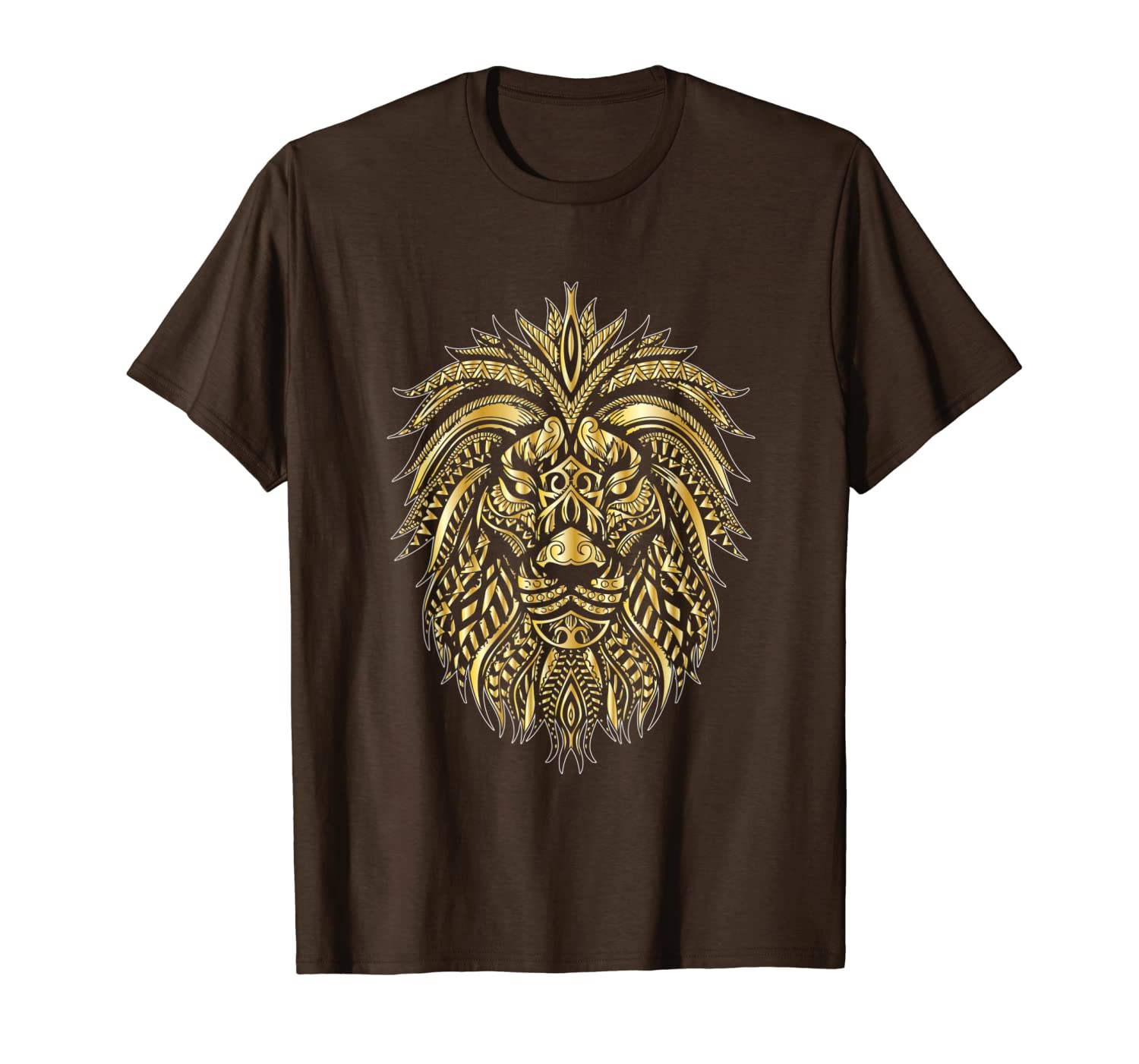 Lion Head Polygon Logo T-Shirt T-Shirt Unisex Tshirt