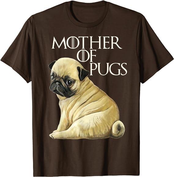 Funny pug dog owner t shirt tshirt tee gift idea f68L