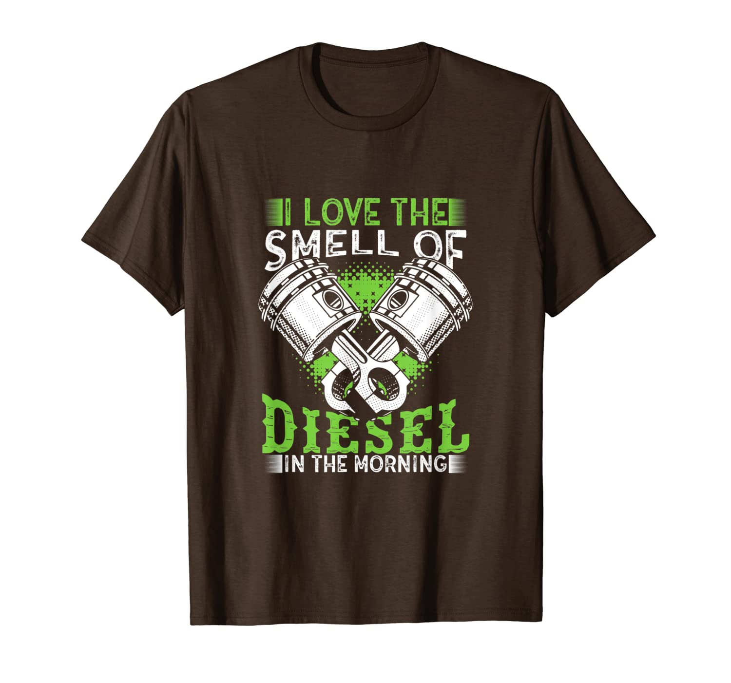 I Love the Smell of Diesel in the Morning Truck Driver Shirt-ANZ