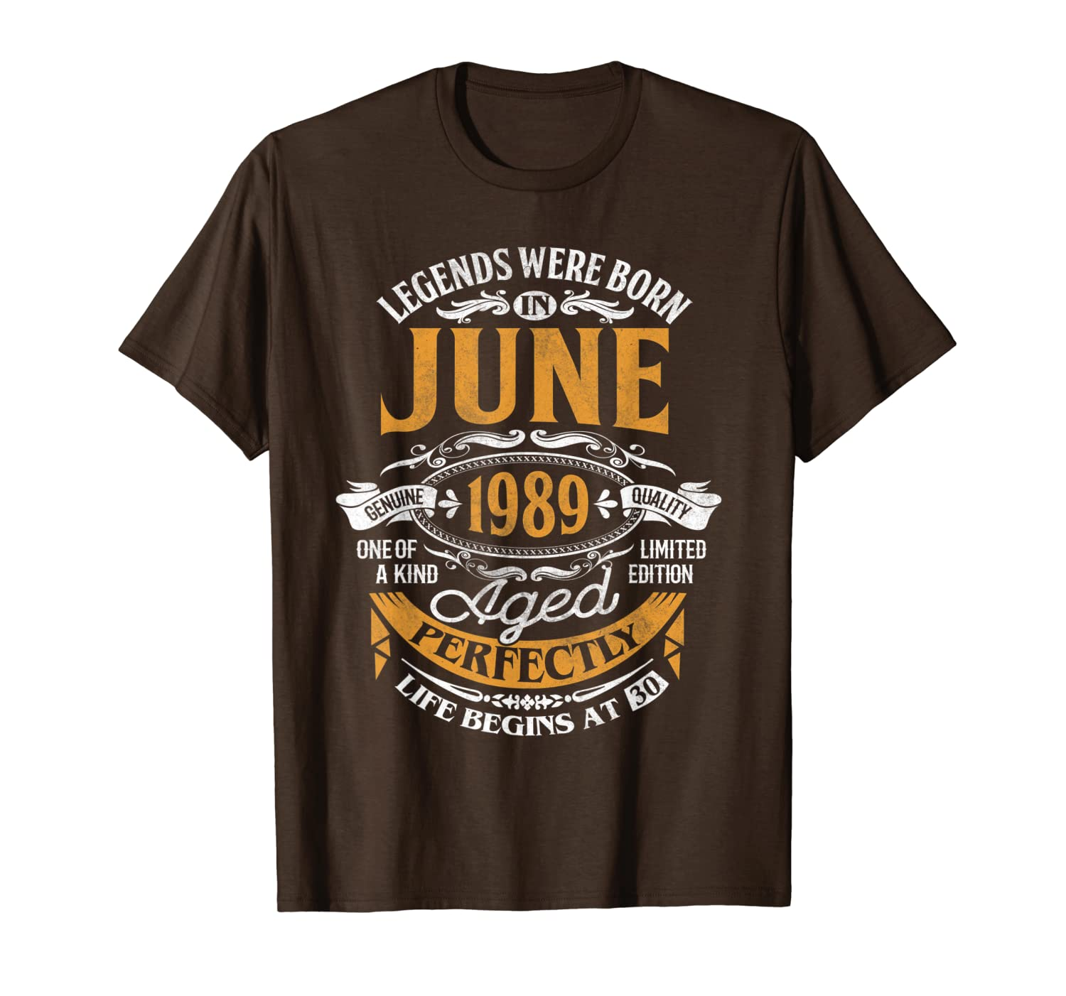 Legends Were Born In June 1989 30th Birthday Gift Shirt T-Shirt Unisex Tshirt
