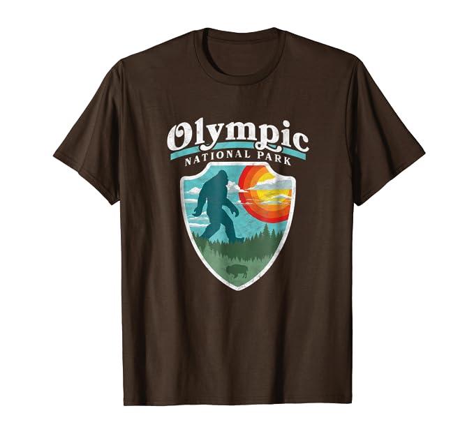 Amazon.com: Bigfoot parque nacional olímpico Sasquatch ...