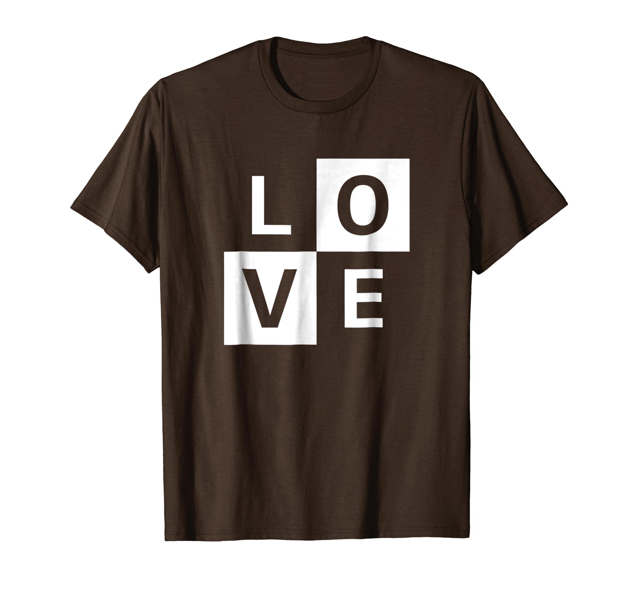 95f4e79e6f7d Love T-shirt Simple Design for Men and Women- TPT – Best Selling T ...