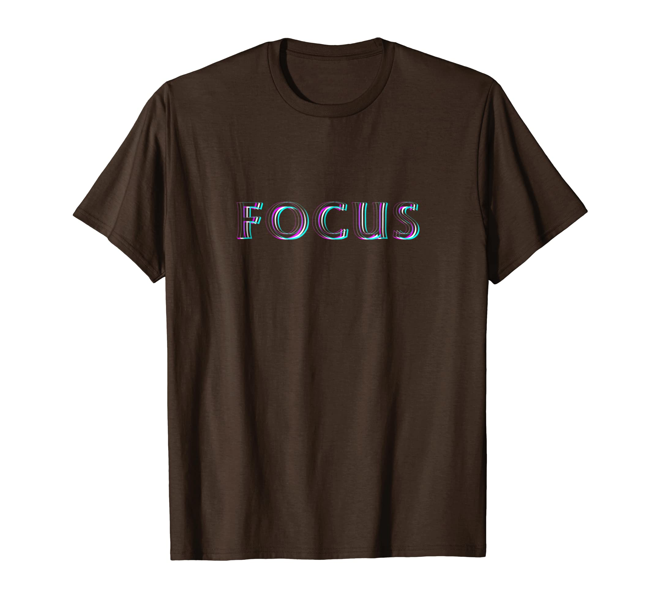 Focus Optical Illusion T Shirt   Trippy Hard on Eyes-Teesml