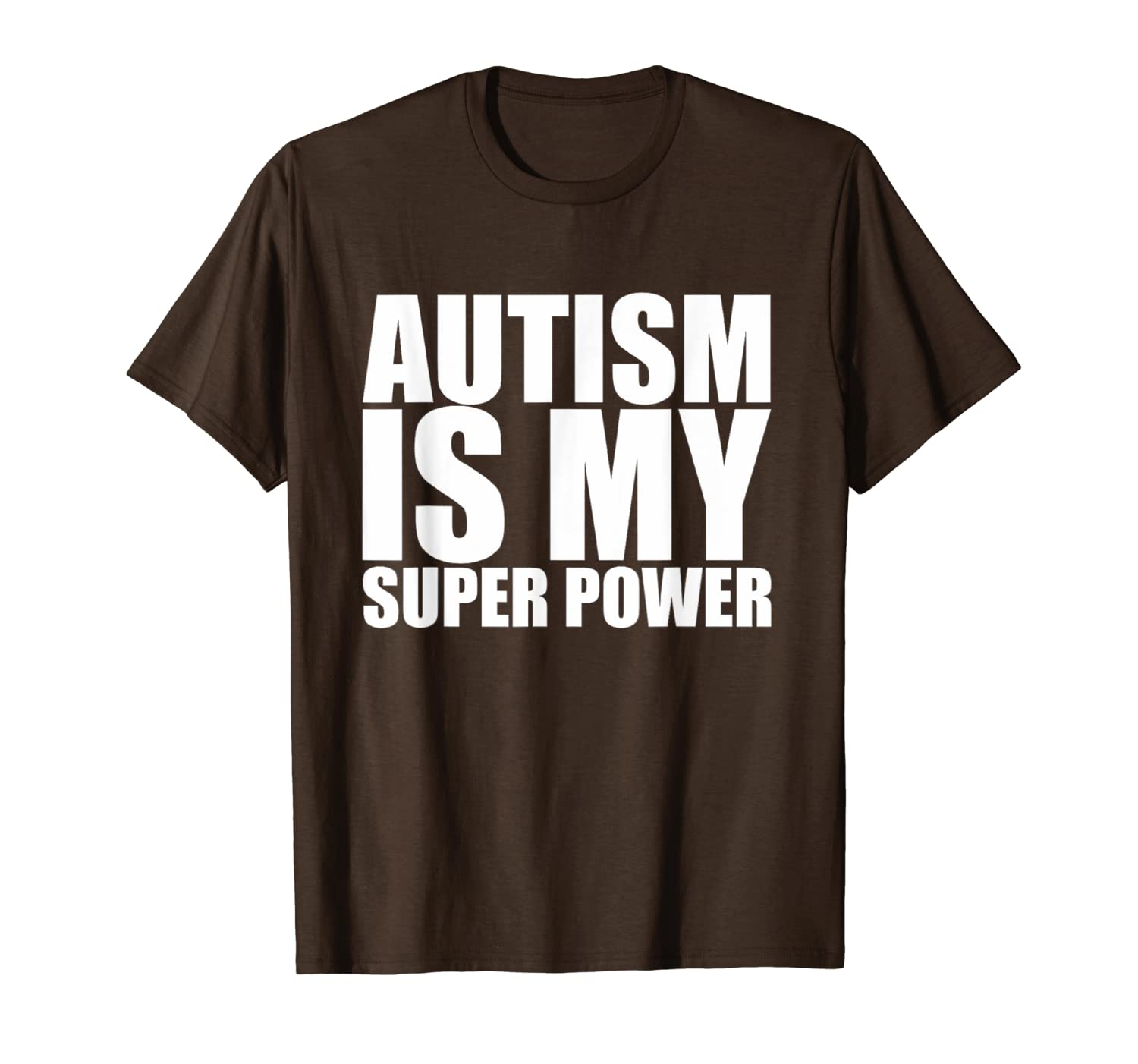 8fb5beaf879 Amazon.com: Autism Shirts: Autism is my superpower T-shirt: Clothing