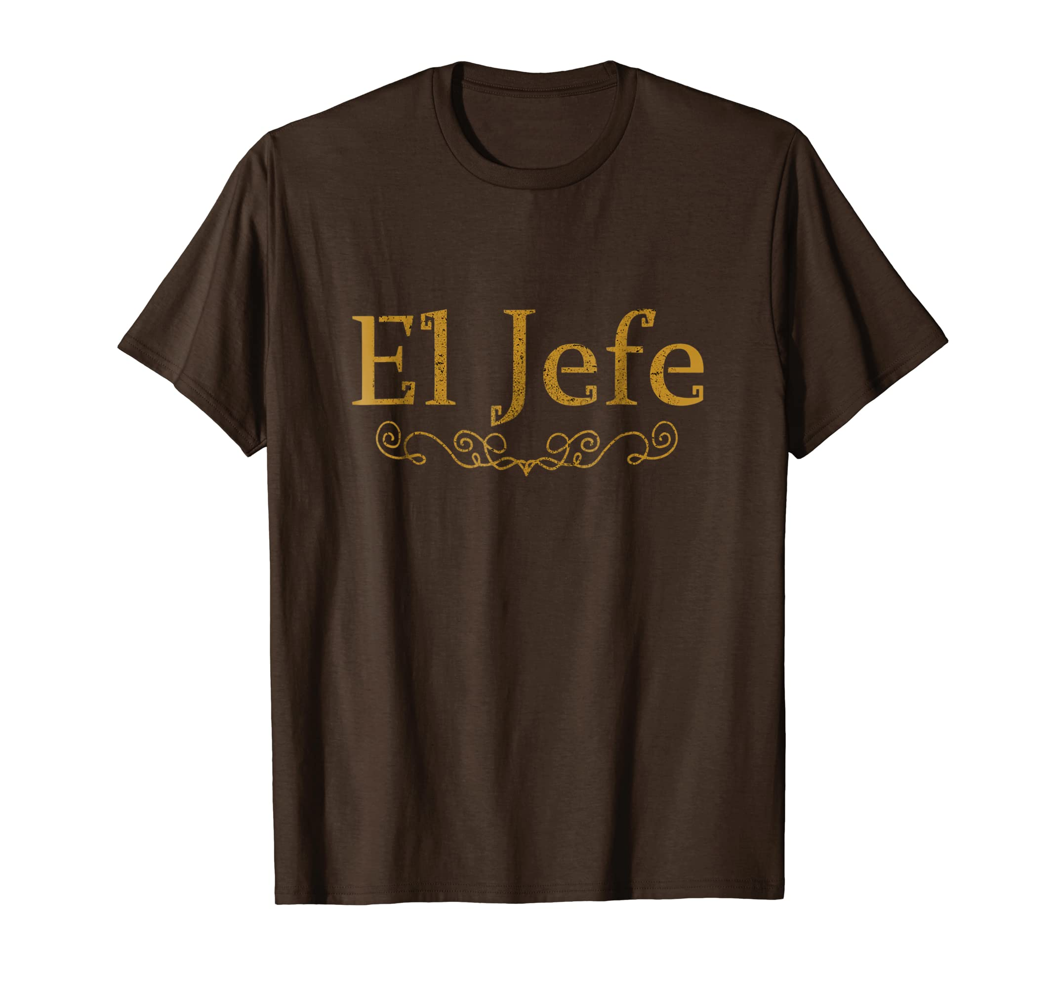 0d0b1a93a Amazon.com: The Boss in Spanish - El Jefe TShirt, Gift for Managers XMAS:  Clothing