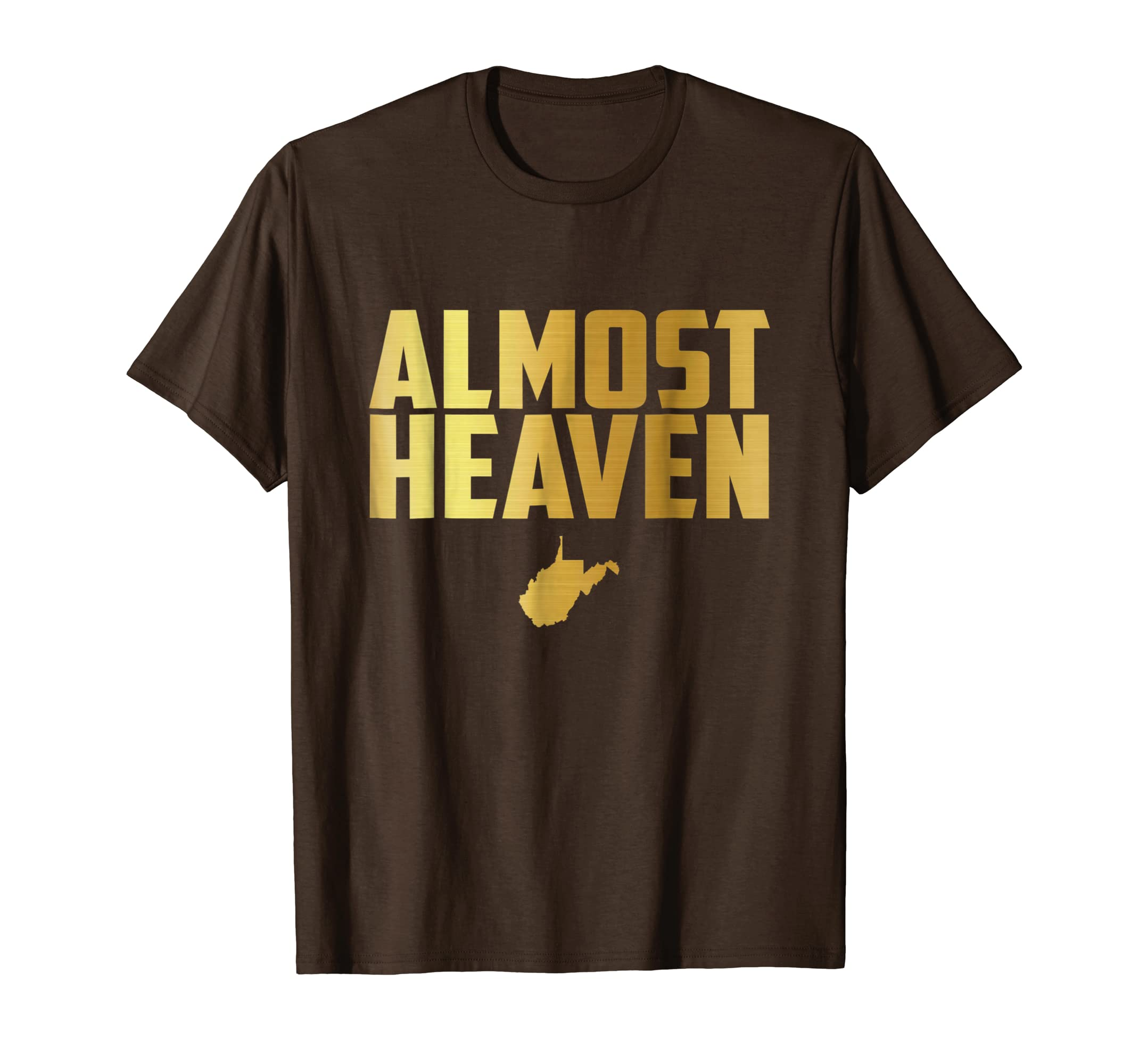 802d3e20862e0 Amazon.com: Almost Heaven West Virginia Tee - Gifts For WVU ...