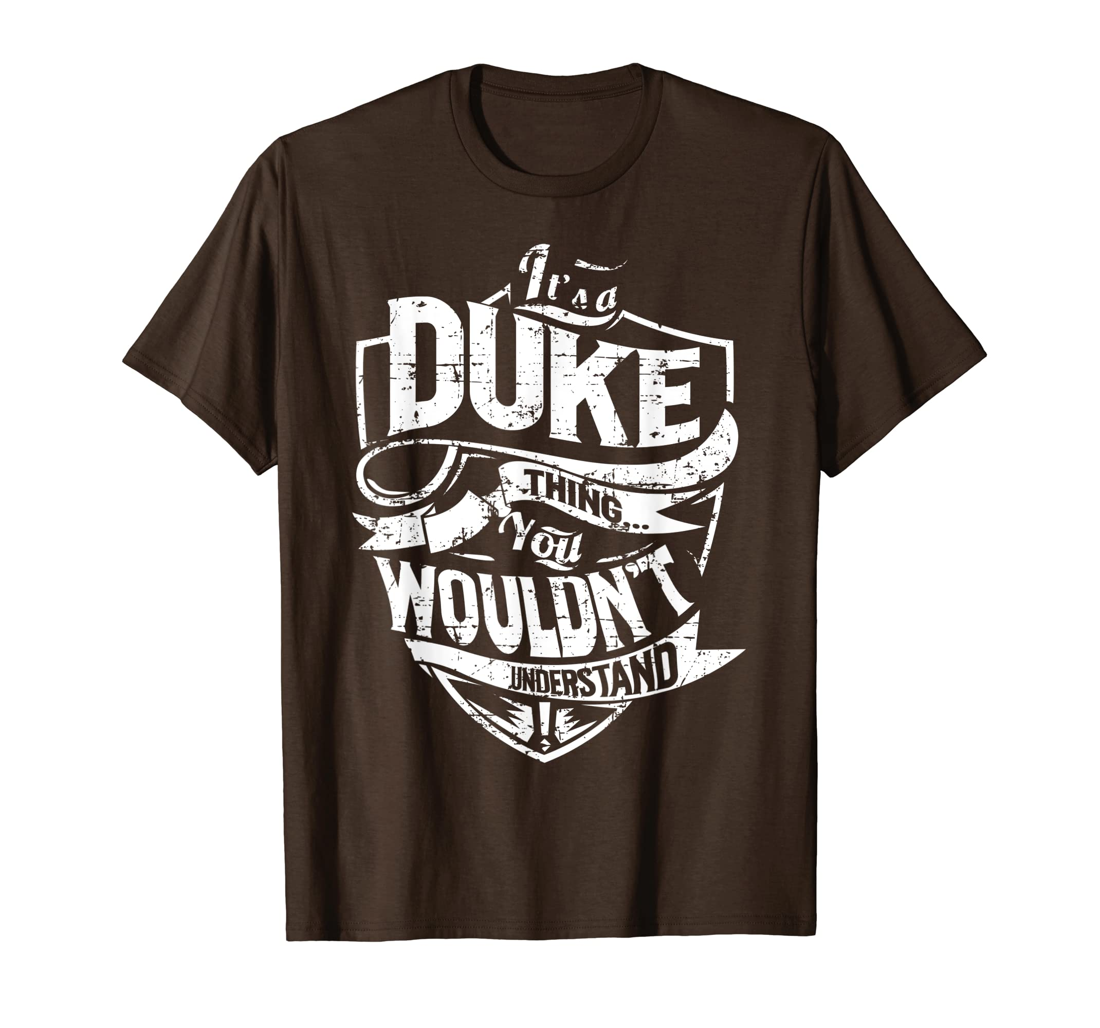 d090fd6e1 Amazon.com: It's A Duke Thing You Wouldn't Understand T-Shirt: Clothing