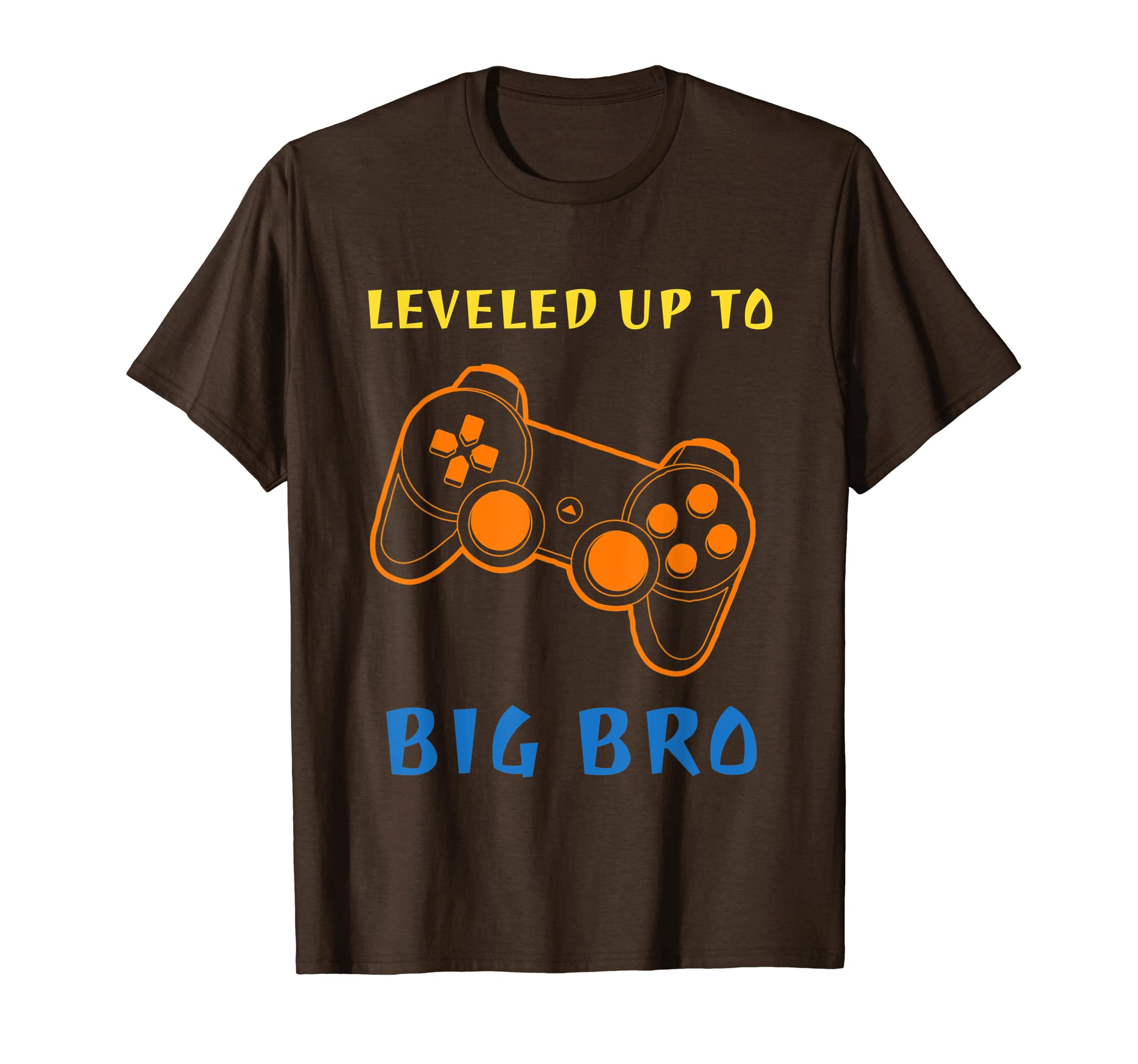 Leveled Up To Big Bro T Shirt Brother Gift For Gamer Pajama-Yolotee