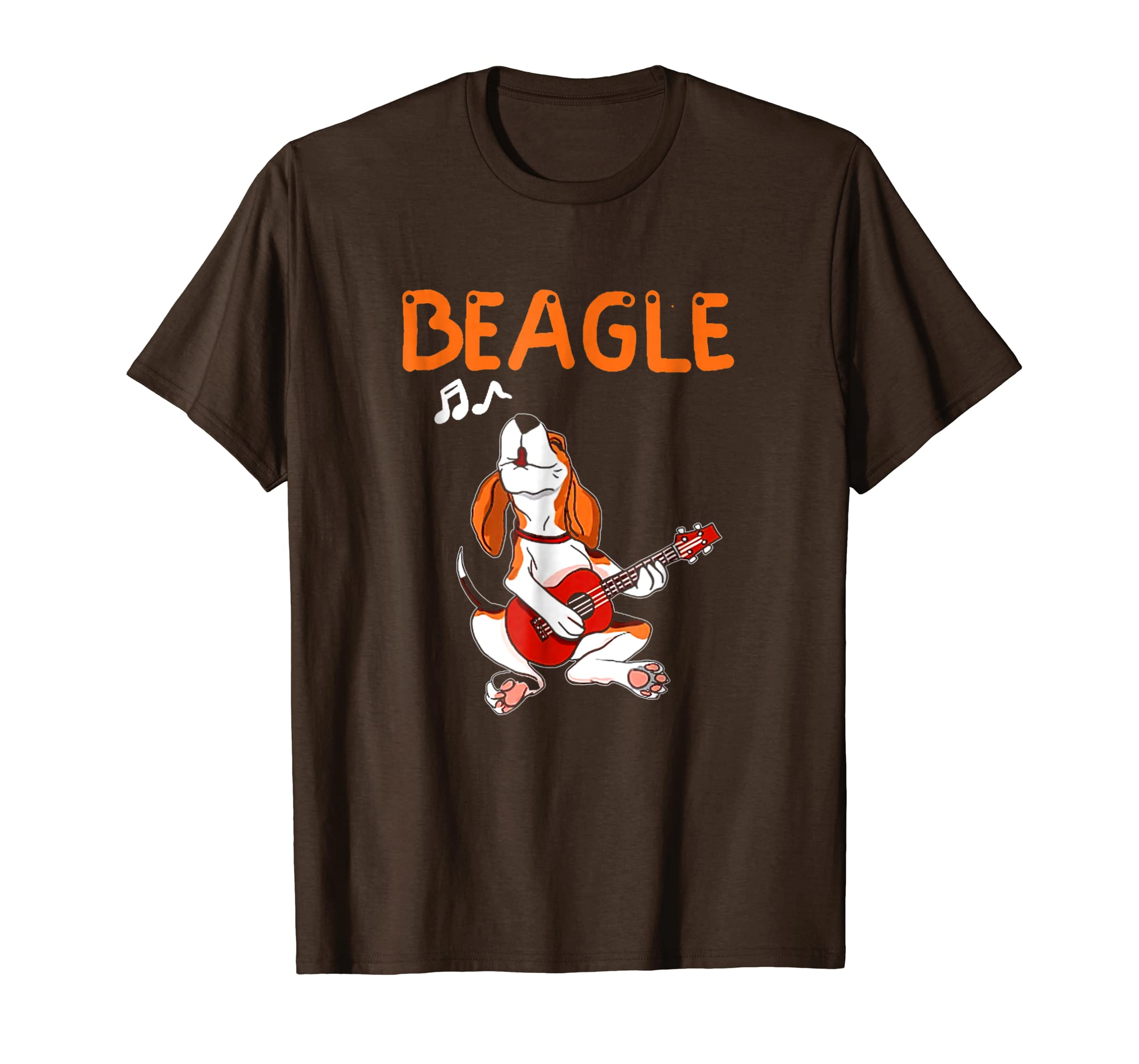 Beagle T Shirt Beagle Dog Music Shirt-Awarplus