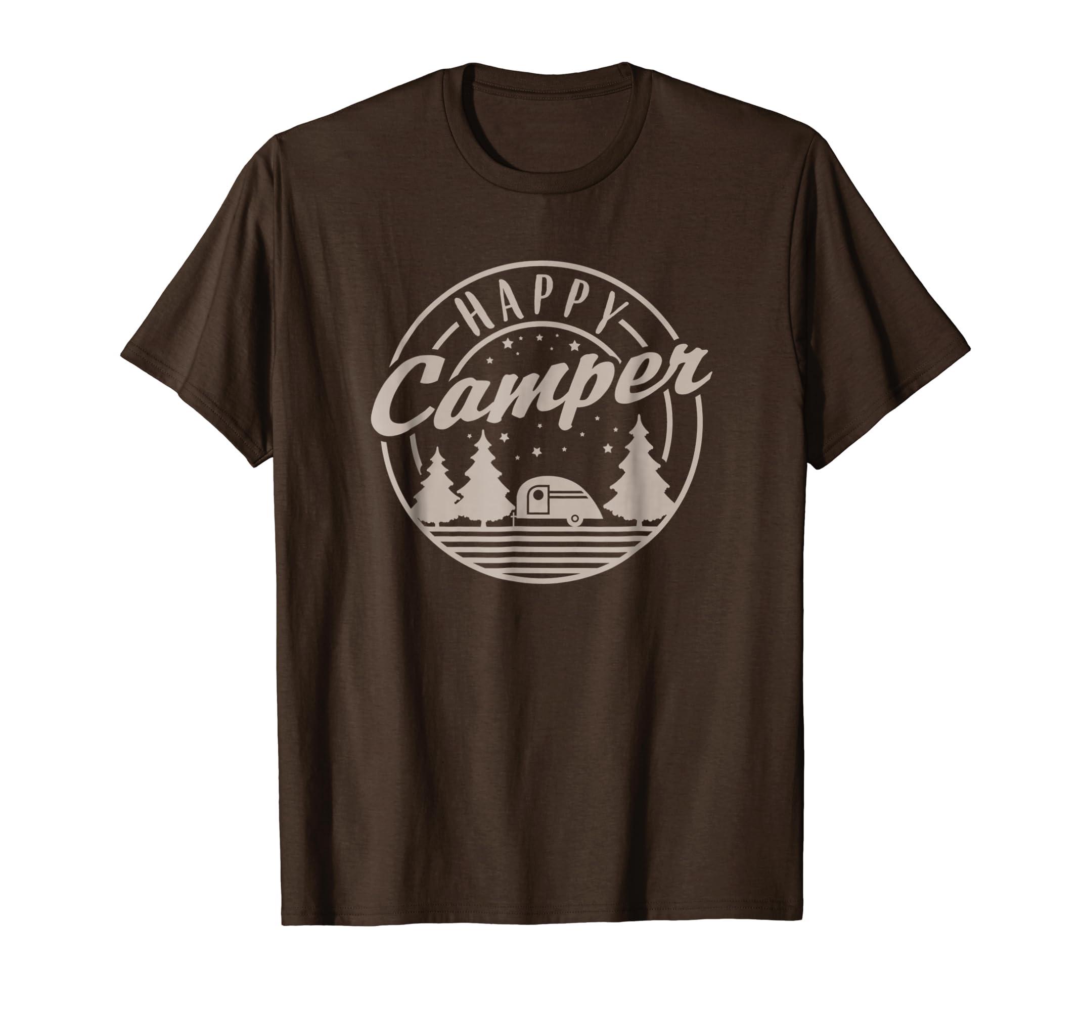 Happy Camper T Shirt Under The Stars-Awarplus