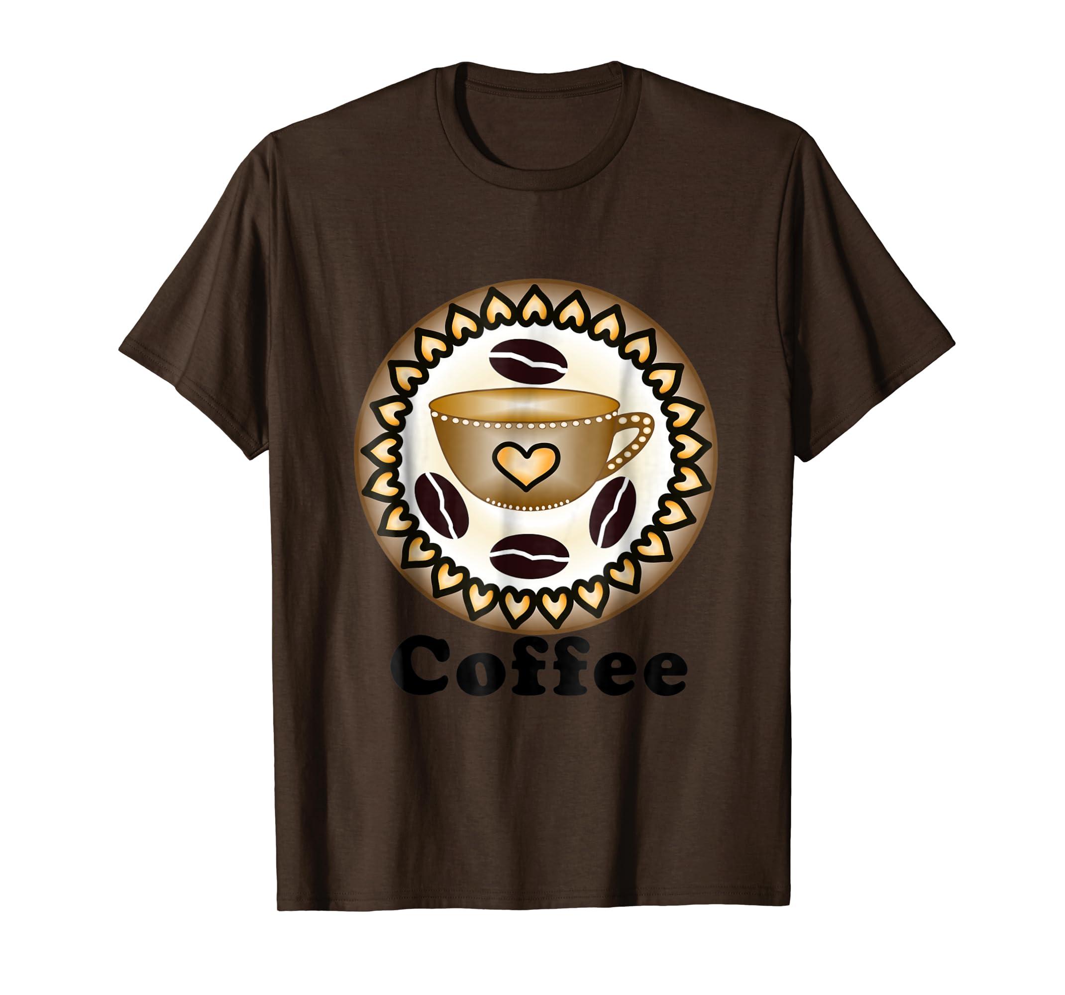 Amazon.com: Coffee Lover, Fun Yoga T shirt: Clothing