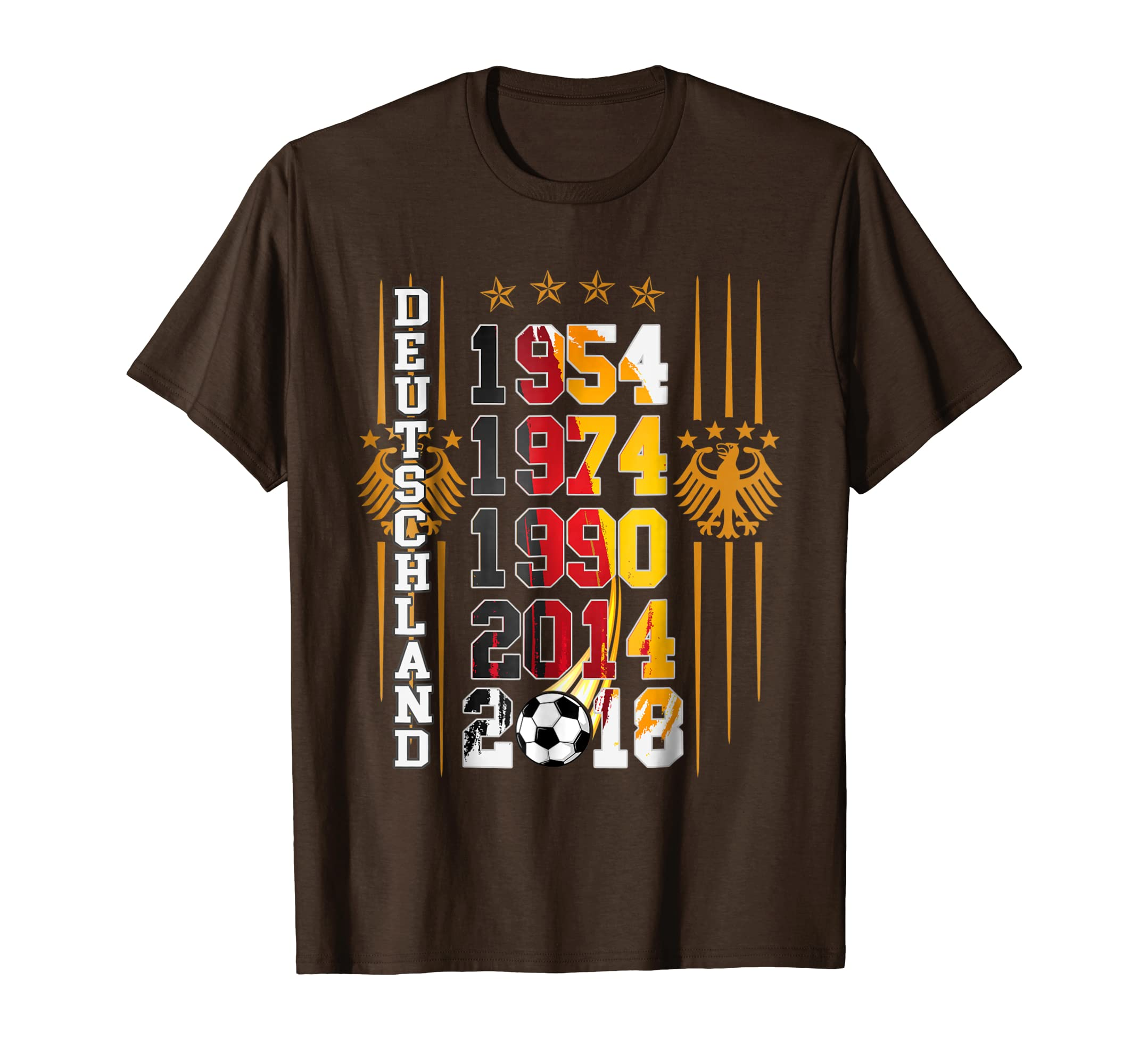 b1c76ac8b66 Germany Soccer T-Shirt with Football Championship Years-alottee gift ...