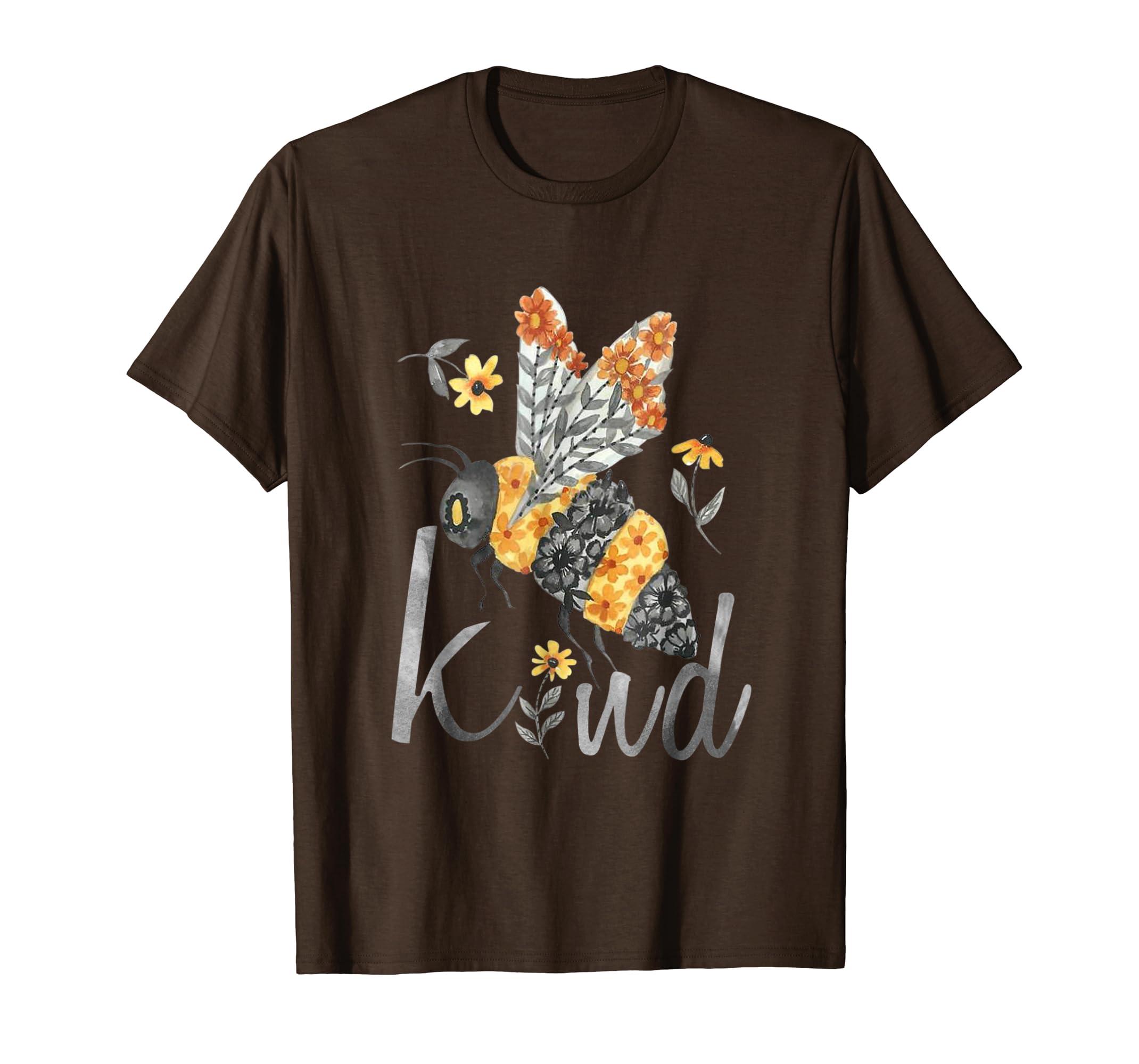 Bee Kind   Be Kind   Teacher T Shirt-Teesml