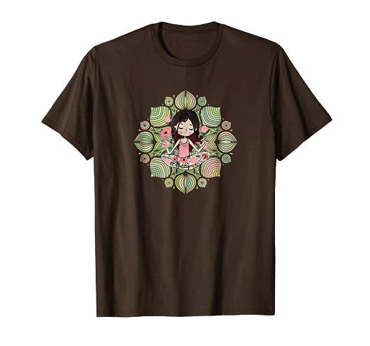 Amazon.com: Yoga Mandala T Shirt / Mandala Yoga Shirt: Clothing