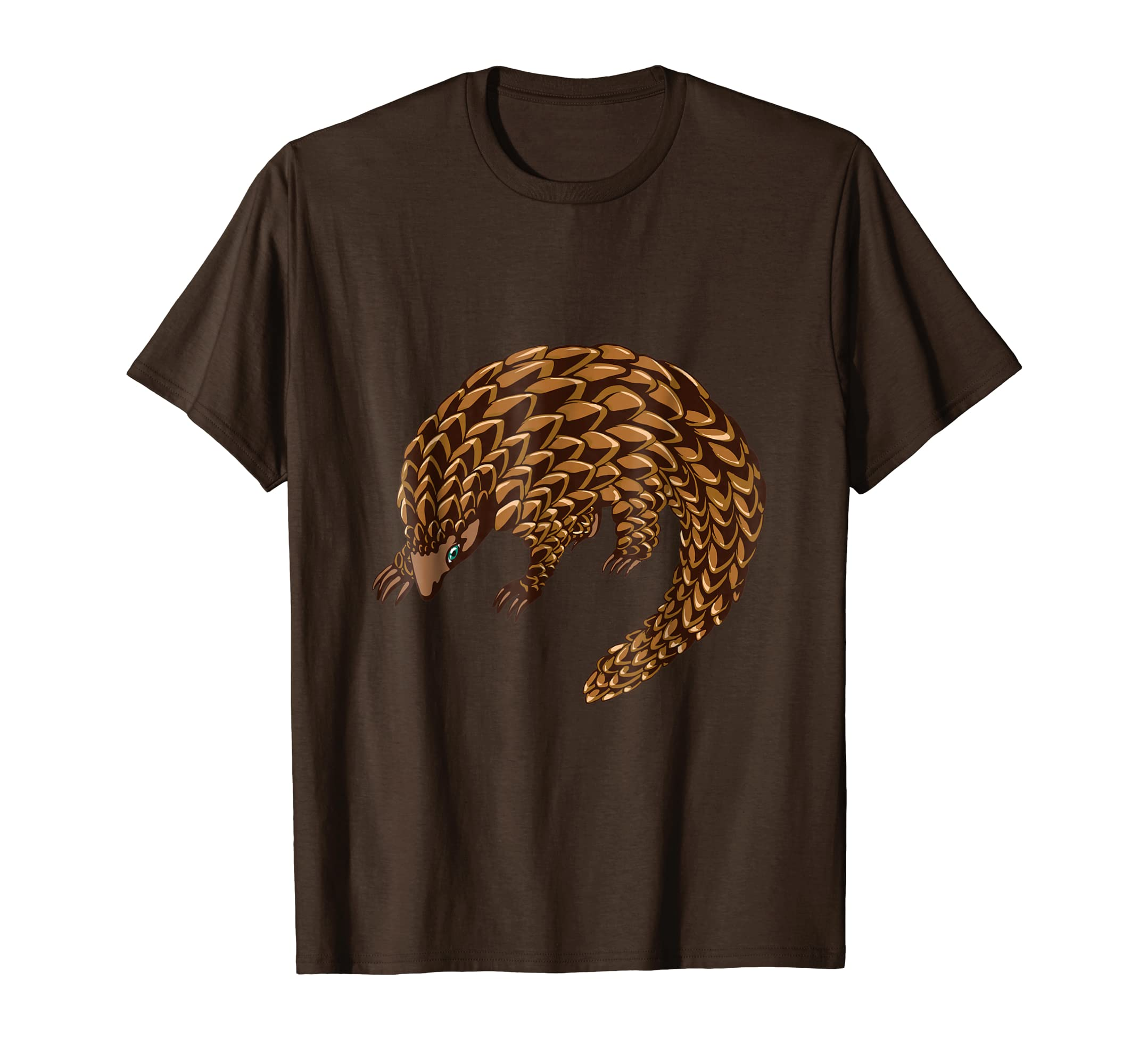 Pangolin T Shirt   Save The Pangolins-azvn