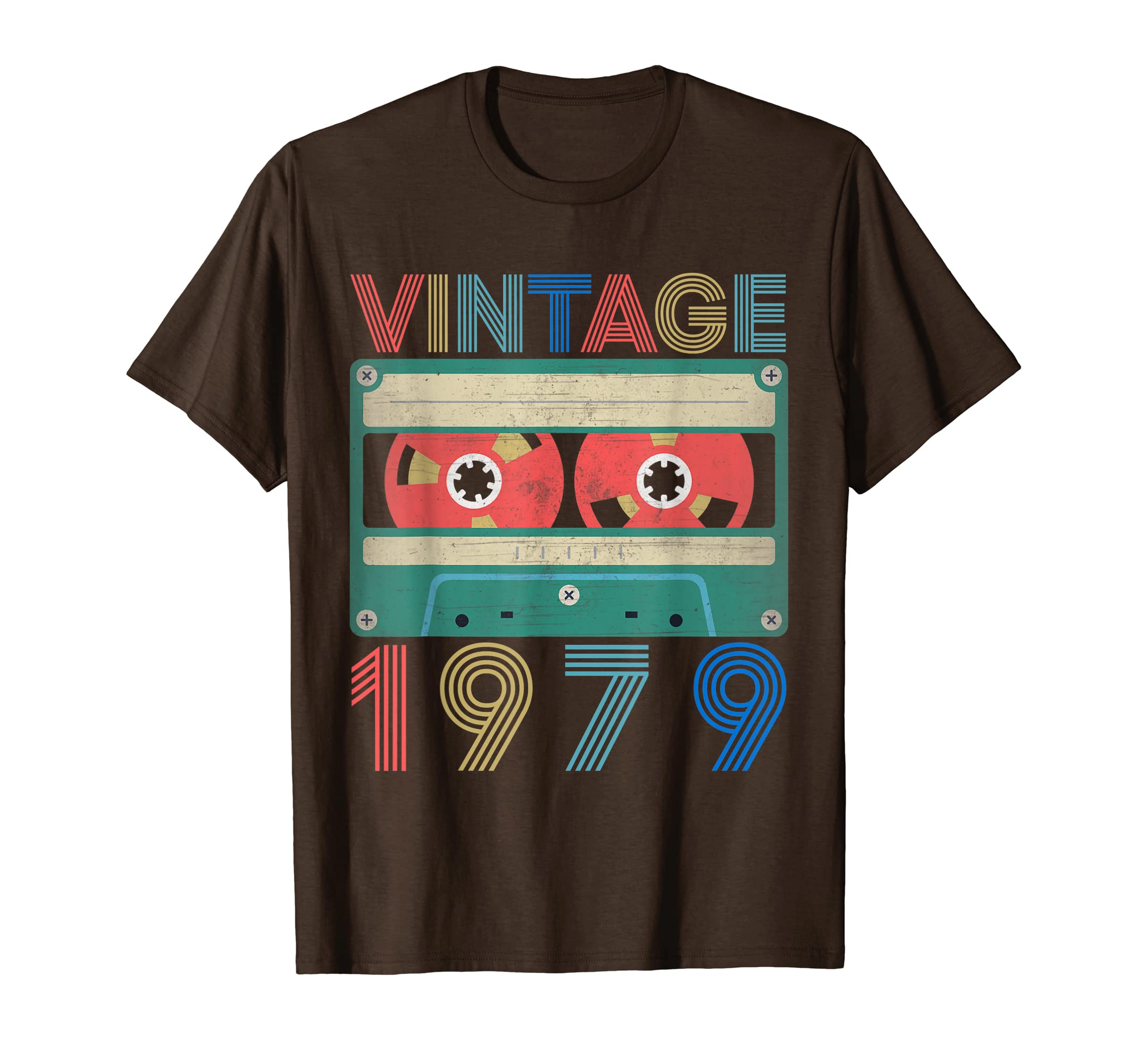 Amazon 1979 Vintage 40th Birthday Gifts Ideas T Shirt Him Her Clothing