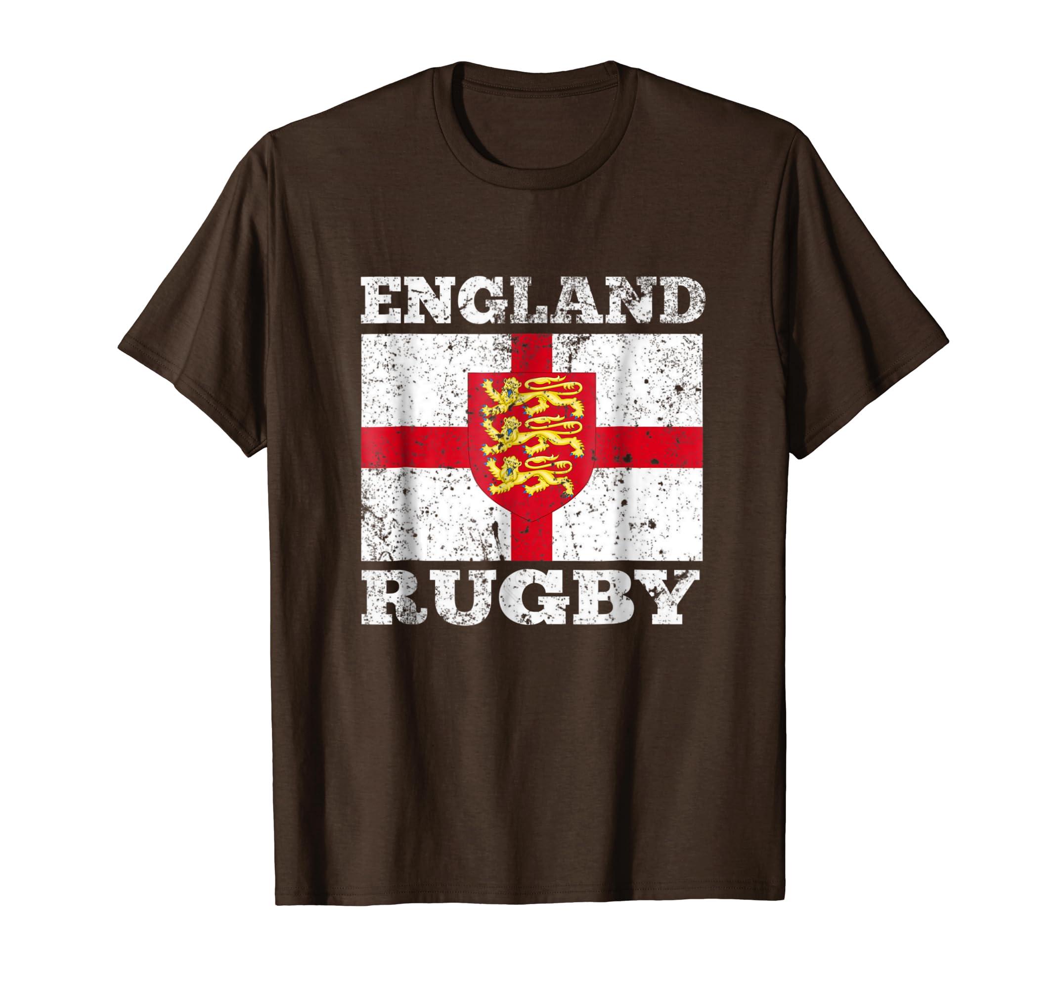 3889b3f6437 England Vintage Rugby Shirt - DREAMWORKS