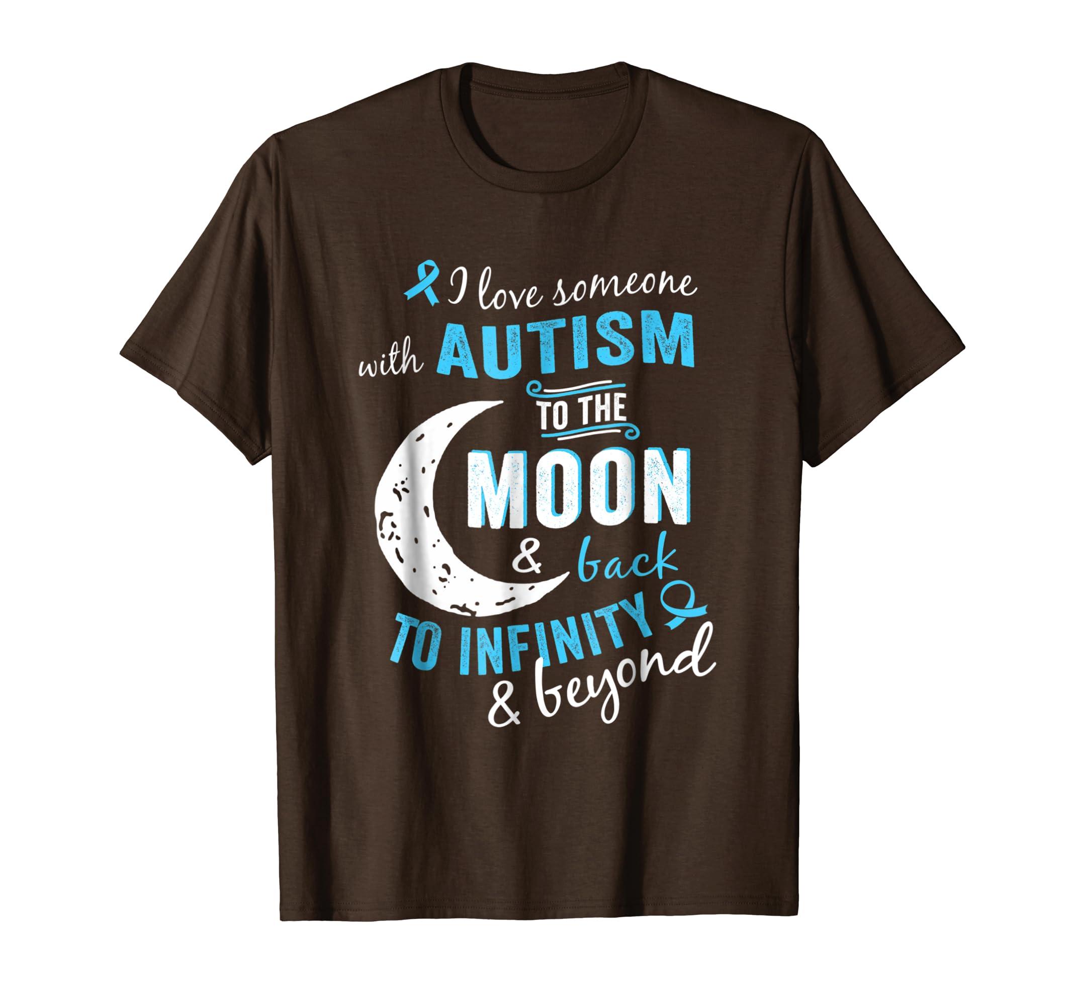 Amazon Autism Shirts Autism Awareness Ribbon T Shirts Momdad