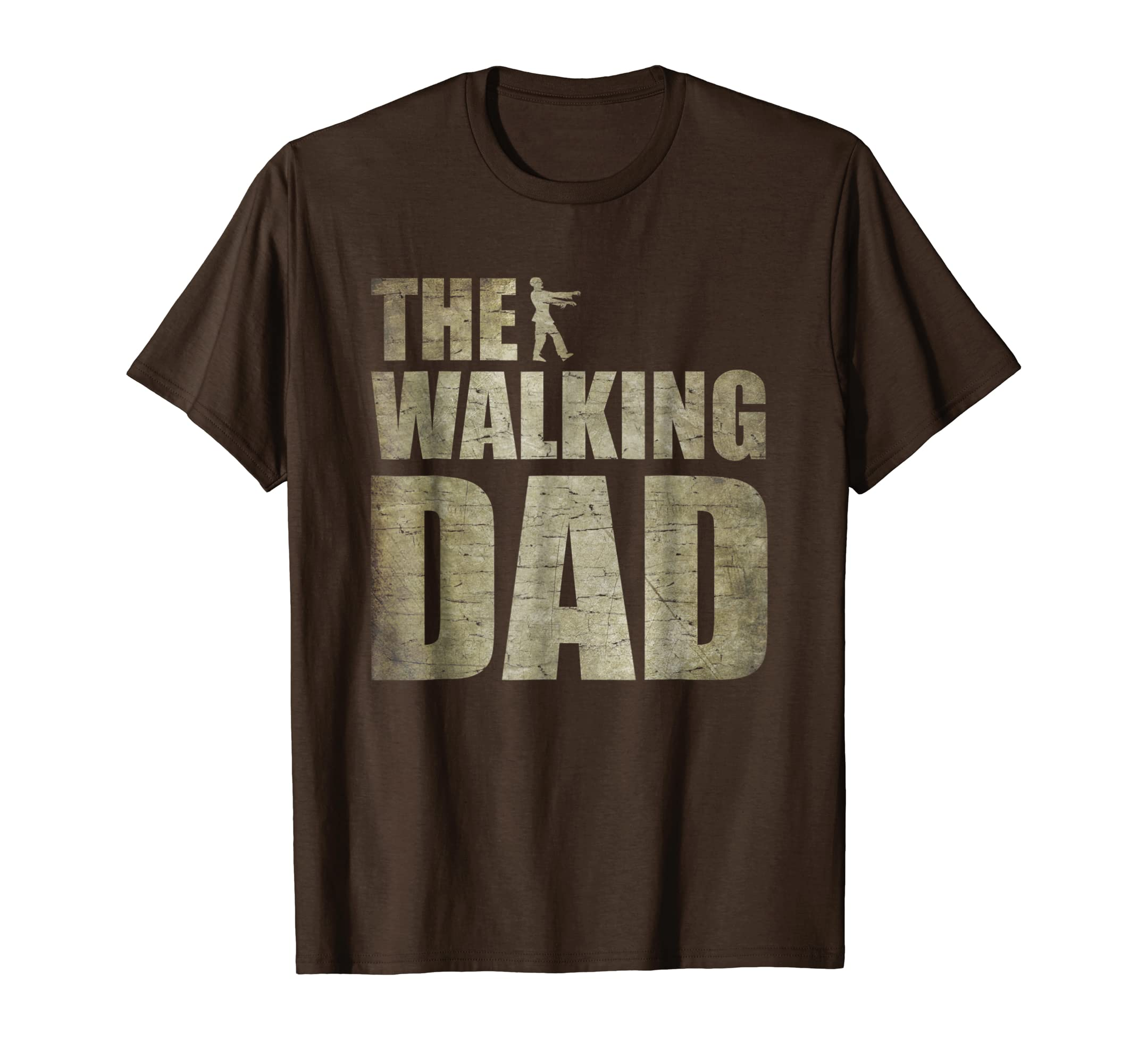 Walking Dad Shirt Zombie Men Father's Day Tee-ANZ