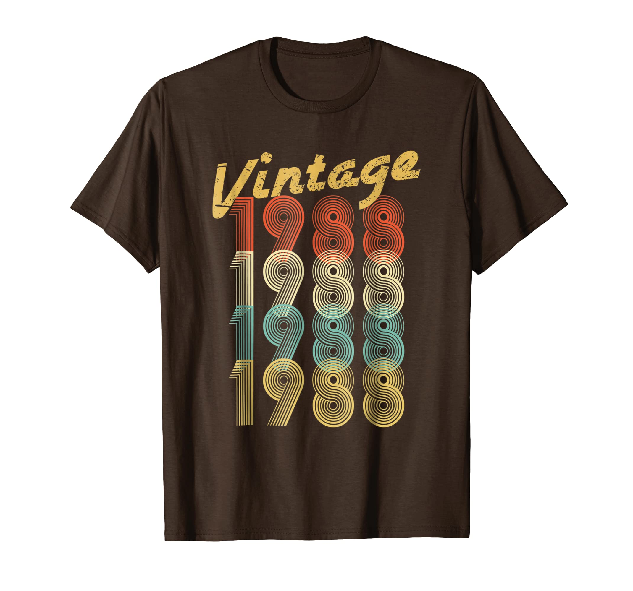 1988 Vintage Funny 30th Birthday Gift Shirt For Him or Her-Rose