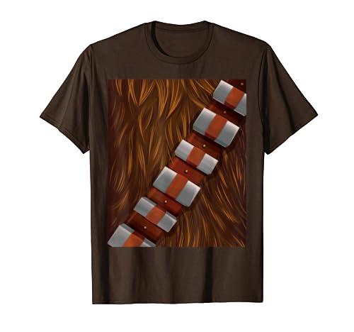 Star Wars Chewbacca Halloween Costume  T Shirt