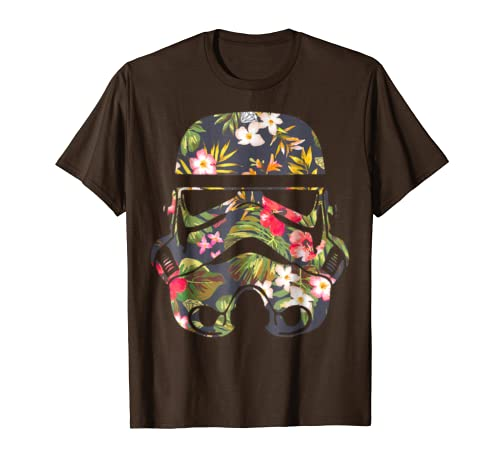 32293454 Amazon.com: Star Wars Tropical Stormtrooper Floral Print Graphic T-Shirt:  Clothing