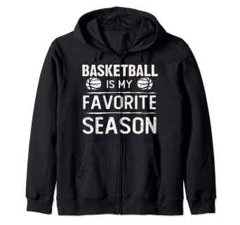 Amazon.com: Basketball Is My Favorite Season - Sudadera con ...